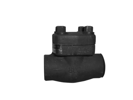 Valvotubi Ind. forged steel check valve ANSI #800 art.1711