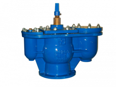Valvotubi double air release valve with isolating valve art.706-712