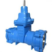 Valvotubi soft seated gate valve for HDPE pipe fig 98