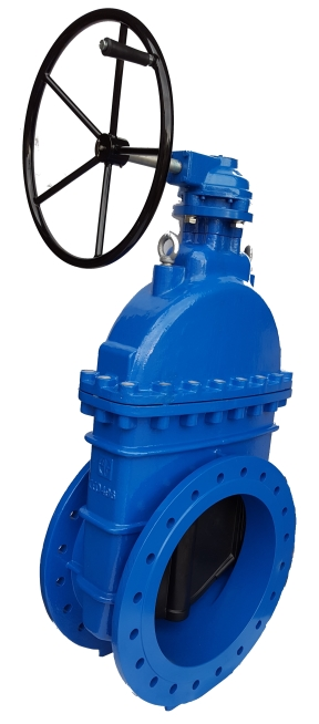 Valvotubi Ind. soft seated gate valve with reducing gear art.93R